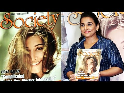 UNCUT - Vidya Balan At Launch Of Society Magazine November Issue