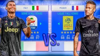 Ligue 1 ALL-STARS vs. Serie A ALL-STARS - FIFA 19 Career Mode Experiment