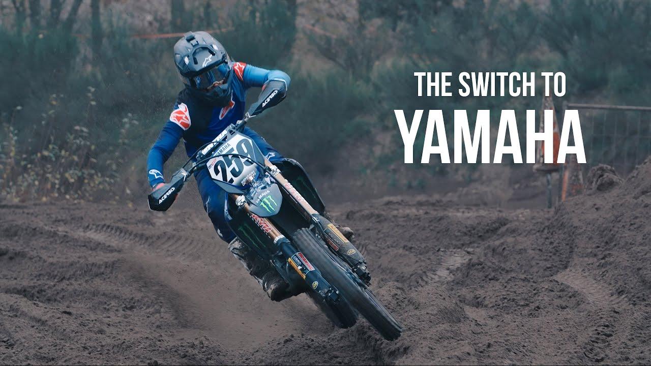 Glenn Coldenhoff na Yamaha - VÍDEO
