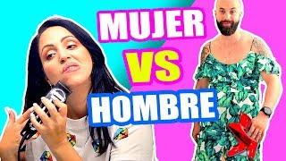 INTERCAMBIO CON MI HERMANO! BIKINI, AFEITAR 😱 MUJER VS HOMBRE - SandraCiresArt ft El Pipi