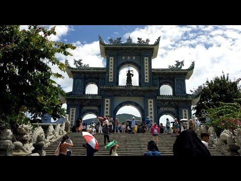 Chùa Linh Ứng - Bãi Bụt , Đà Nẵng (có phụ đề)
