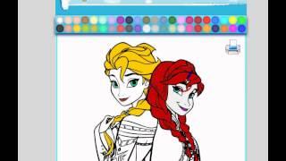 Frozen Fever Coloring - Frozen game