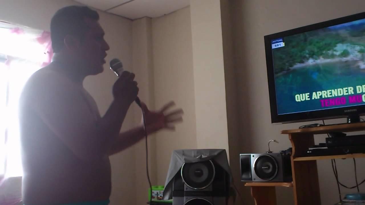 Leonel en el karaoke casero youtube - Karaoke en casa ...