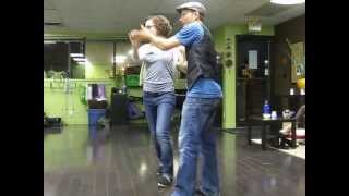 "Dance Your Freedom Studios ""smooth Style"" Swing Aka West Coast Swing Class Demo, In Victoria Bc!"
