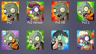 Plants vs Zombies,PVZ,PVZ Heroes,Plants vs Zombies HD,PVZ 2,All PVZ