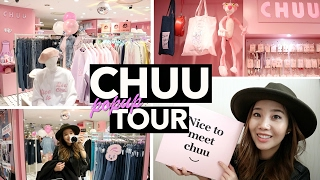 Chuu Pop Up Store in Myeongdong + K-Fashion Haul!