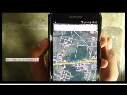 lams rider how to use gps