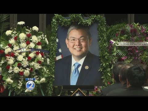 Moving ceremony honors late Congressman Mark Takai at State Capitol