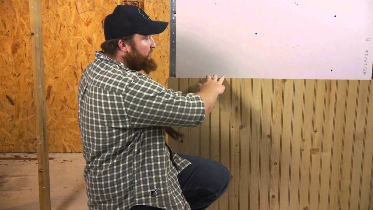 How To Remove Wood Paneling From The Walls Walls Paneling Youtube