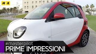 smart fortwo cabrio | prime impressioni