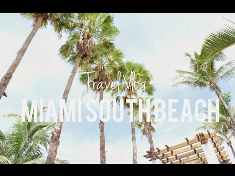 Miami South Beach Travel Vlog