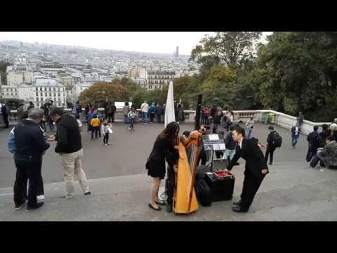 巴黎蒙马特高地钢琴即兴 Montmartre, Paris piano by Cambridge李劲锋夫妇