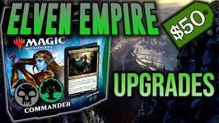Elven Empire Precon: $50 Budget Upgrade | Kaldheim Elf Tribal Precon Power-Up