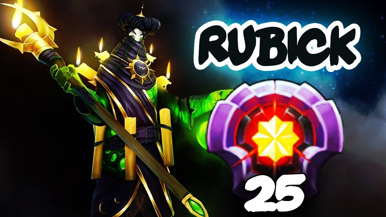 First Level  Rubick Dota  Gameplay Compilation