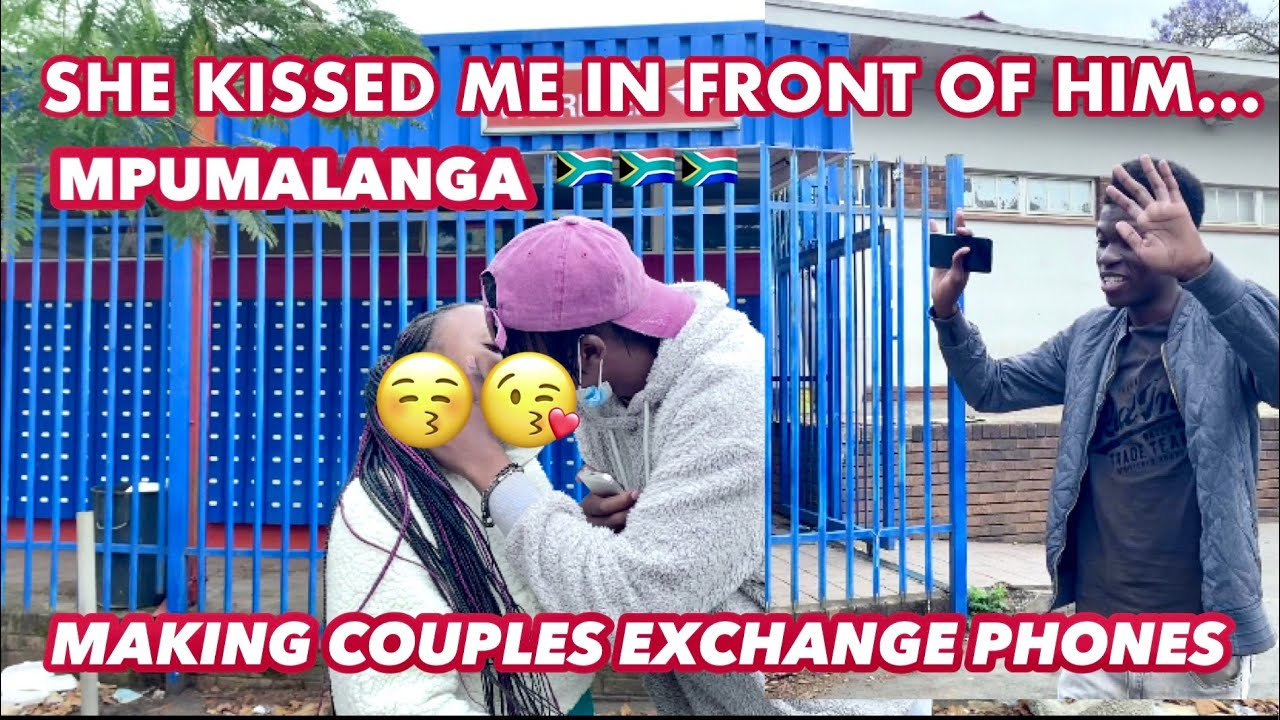 Download Making couples switch phones🥳 (SA🇿🇦edition loyalty test SEASON 2)// public interview // EP7