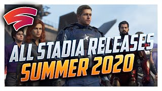 All New Google Stadia Games Coming This Summer!