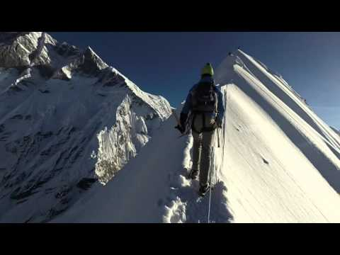 Island Peak, Nepal, October 2015 from Crampon Point to the Summit. (1080p@60fps)
