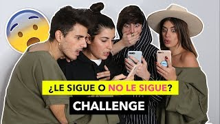 ¿LE SIGUE o NO LE SIGUE? CHALLENGE - Dulceida & Alba Vs The Tripletz