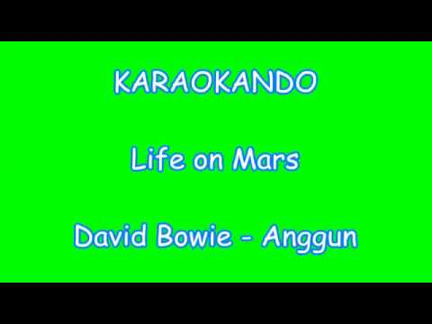 Karaoke Internazionale - Life on Mars - David Bowie - Anggun ( Lyrics )