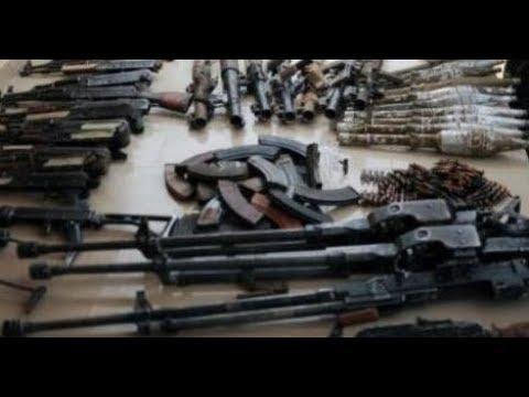 EYINDI: CACHE D'ARMES EZIKI NA KIVU, EGLISE DE REVEILLE BA TRAITRES