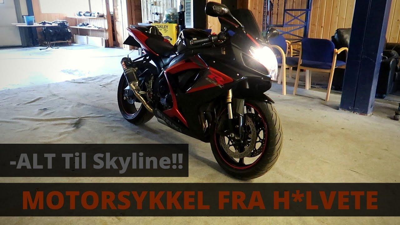 Jeg har kjøpt meg Motorsykkel... + Oppdatering på Skyline!