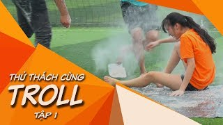 Thử Thách Cùng TROLL | #1: Dizzy penalty shoot out challenge