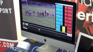 SportsCam Pan Tilt Zoom Camera System  with Sportscode Video Analysis Software