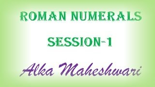Learn about Roman numerals, how to write a number in roman system