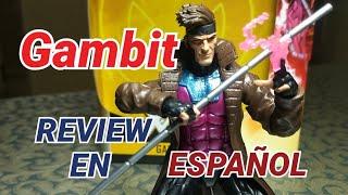 GAMBIT MARVEL LEGENDS REVIEW EN ESPAÑOL