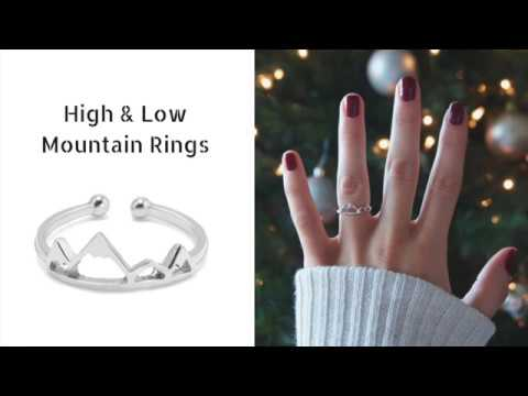 High Low Mountain Rings Alpha Accessories Alphaaccessories Co Review