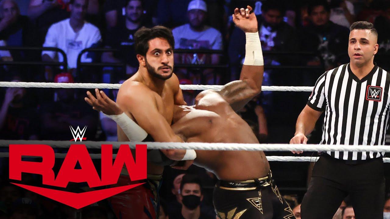Download Mansoor vs. Cedric Alexander: Raw, Oct. 18, 2021