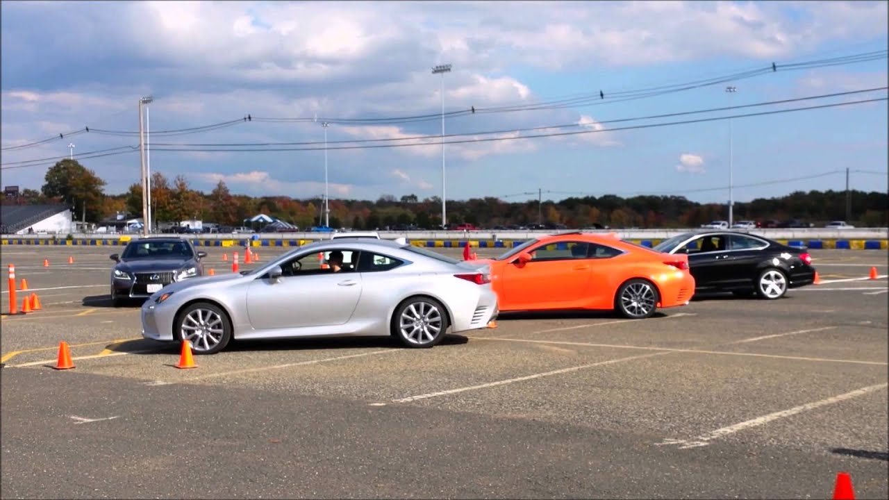 Lexus Event Lexus RC350 Fsport vs BMW 435i Msport vs Audi A5 etc