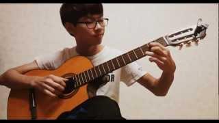 (Nakashima Mika) Snow Flower 雪の華(눈의꽃) - Classical Guitar