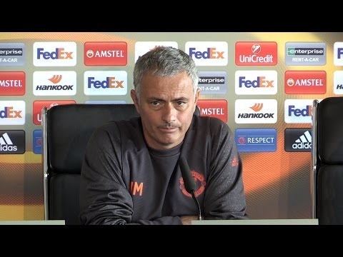 Jose Mourinho Full Pre-Match Press Conference - Manchester United v Zorya Luhansk