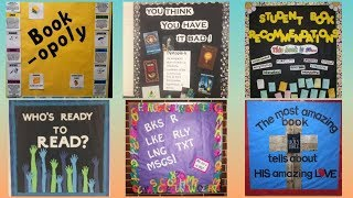 Library School Display Board || Library Display Board Ideas For School ||
