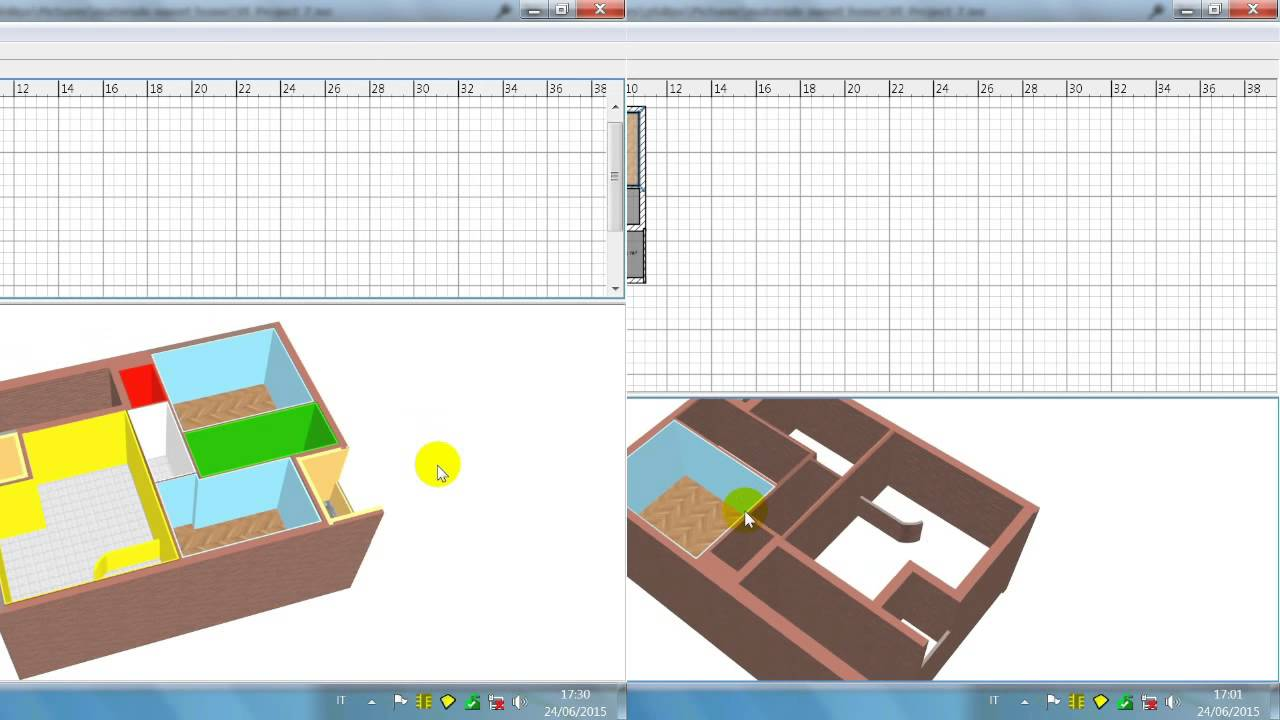 sweet home 3d italiano tutorial la casa youtube