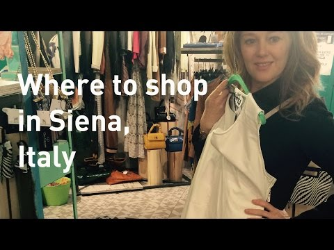 Where to shop in Italy - Siena - Jewellery shopping - Outlet - Shoe shopping