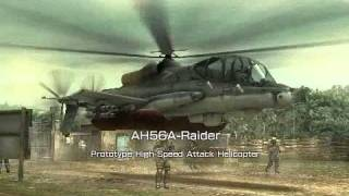 MGS: Peace Walker Co-Op Human Slingshot against Helicopter