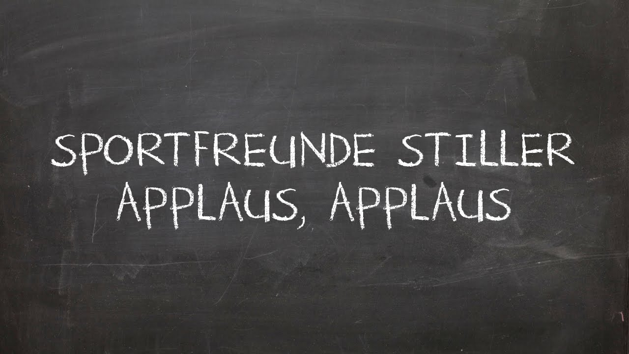 sportfreunde stiller applaus