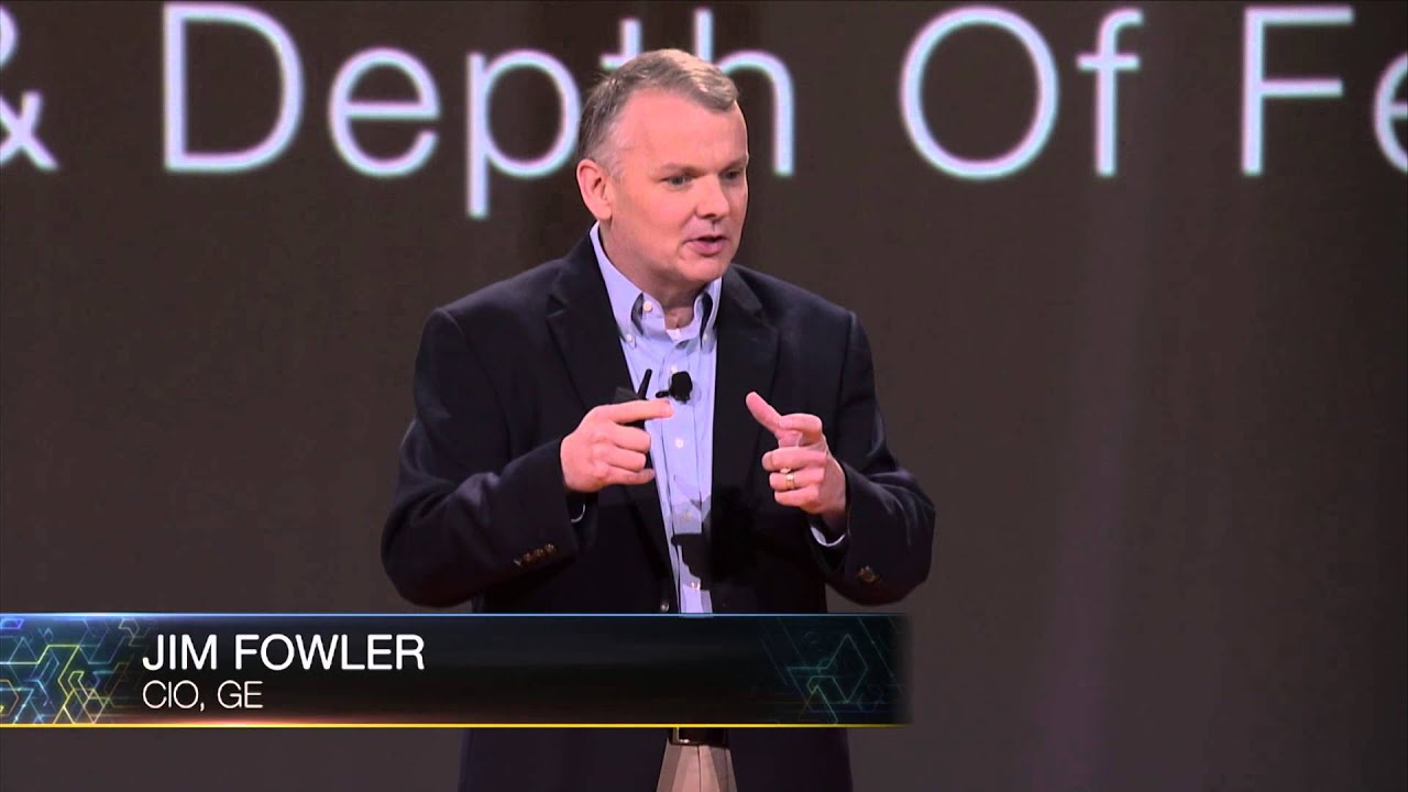 AWS re:Invent 2015 Keynote | Jim Fowler, CIO, GE