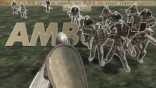 AMBUSHED by 340 Wildlings in Part 4 of the Game of Thrones mod for Mount & Blade