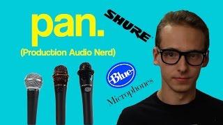 Microphone Review | Blue Encore 200, Blue Encore 300, Shure SM58