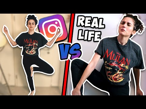 INSTAGRAM Vs. REAL LIFE