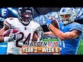 Madden 18 Bears Franchise Year 2 - Week 6 @ Lions   Ep.25