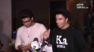 Arjun Kapoor Shows Saif's SMS Reply On Kissing Scenes In Ki & Ka - SHOCKING