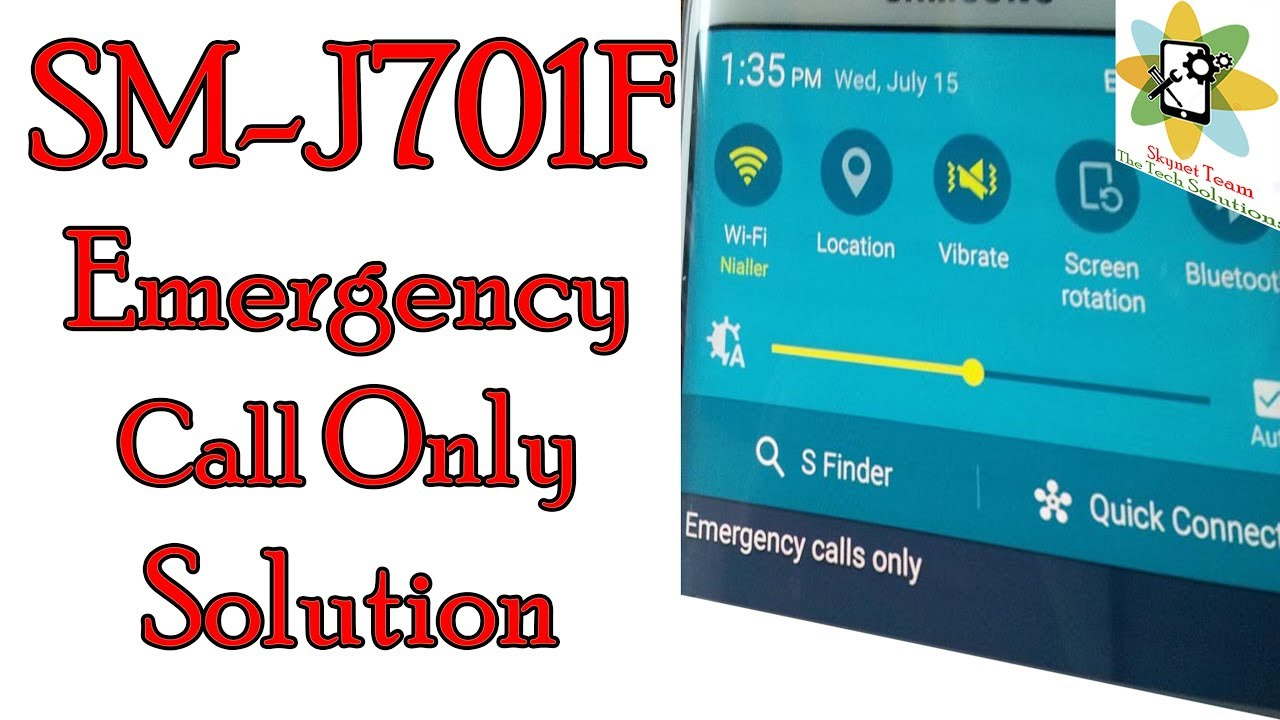 Samsung J701F Root & Emergency Network Repair No Service Done