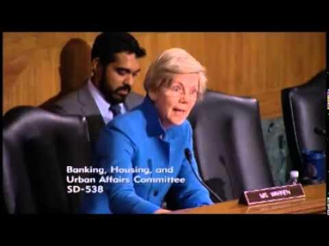 Senator Elizabeth Warren - Prosecuting Wall Street Criminals