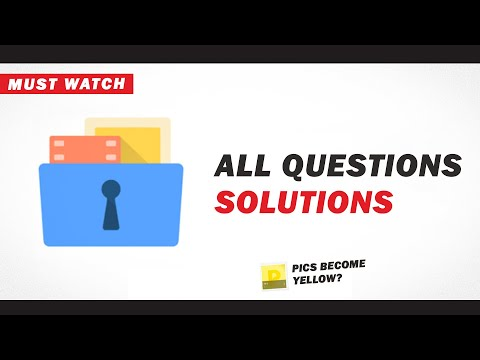 Gallery vault all solutions for you || Must watch to recover your pics