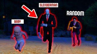 GTA 5 RP : Baby Escaped From SLENDERMAN  !! Malayalam Techies @RANDOMIZED