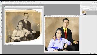 как восстановить старое фото в фотошоп. Колористика в Photoshop CC 2019